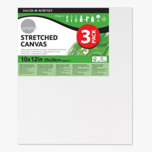 Daler-Rowney Simply Canvas 3er Pack