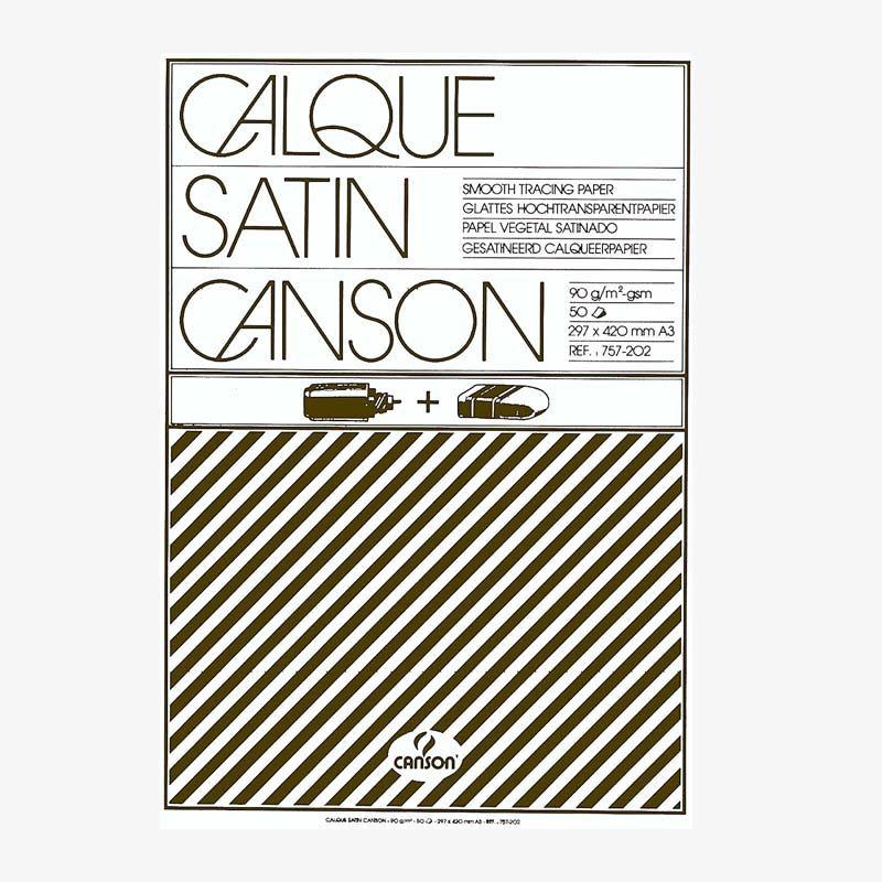Canson Satin Transparentblock