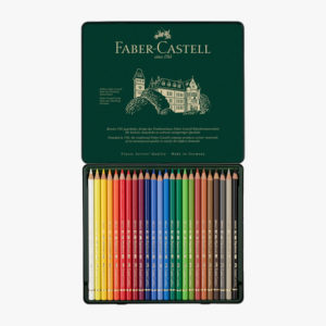 Faber-Castell Polychromos 24 Metalletui