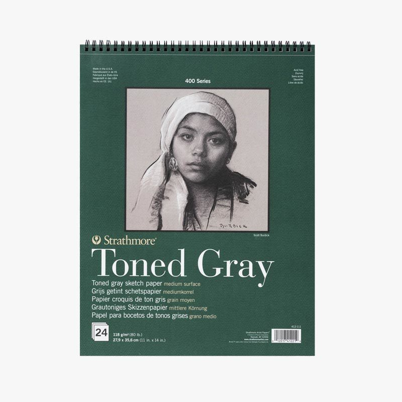 Strathmore Toned Grey Block