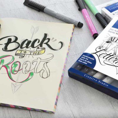 Handlettering Kalligraphie für Kids
