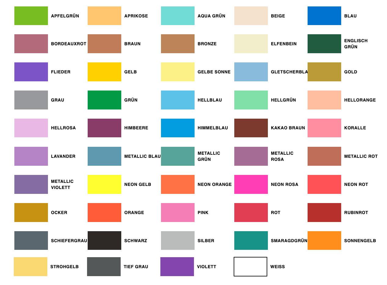 Posca Farben 5M