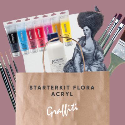 Starterkit Flora Acryl